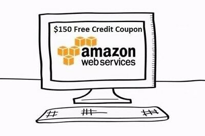 $150 AWS Amazon Web Services Credit Coup0n