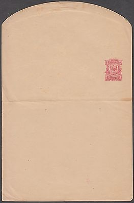 DOMINICA 2c VERY SCARCE UNUSED POSTAL STATIONERY WRAPPER