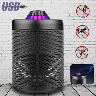 UV Mosquito Killer Light LED Trap Lamp Insect Bug Controller Catcher USB Powered