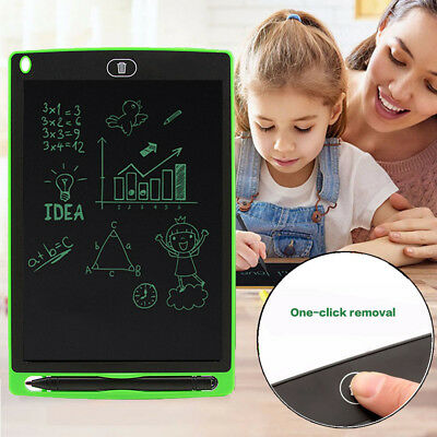 """8.5"""" LCD Writing Tablet Pad for Boogie Board Jot Style eWriter Boards Stylus Lot"""