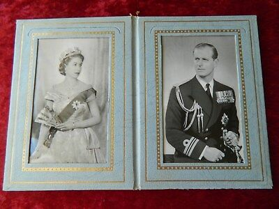VINTAGE  ROYAL TOUR of AUSTRALIA CORONATION  PHOTO ALBUM  SOUVENIR - ELIZABETH R