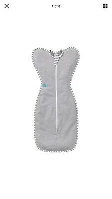Love to Dream Swaddle UP Original, Gray, X-Small