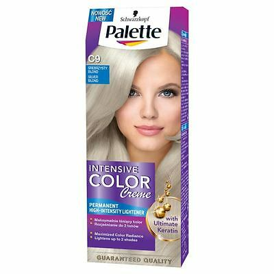 Palette Intensive Color Creme hair dye Silver Blonde No. C9/ Care Against Fading