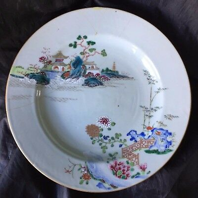 Qianlong Antique Chinese famille rose mid 18th century export porcelain QING 清朝