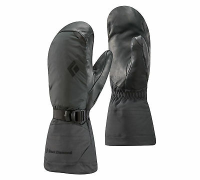 Black Diamond Ankhiale Mitts, Womens Gore-Tex Mitten, Black, L
