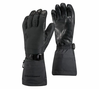 Black Diamond Ankhiale Gloves, Womens Gore-Tex, Black, L