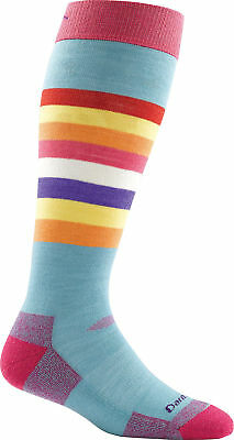 Darn Tough Women's Shortcake Over-the-Calf Cushion Sock, Strawberry, M 1825
