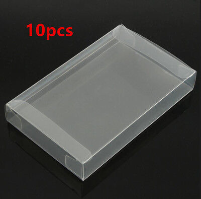 For Nintendo SNES/Super NES 10x Game Plastic Cartridge Protector Cover Box Case