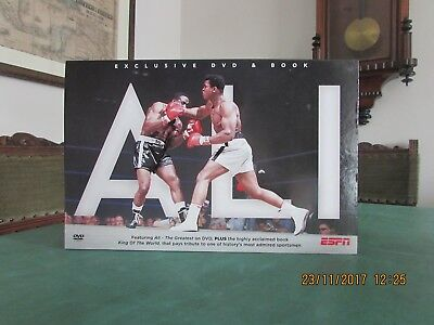 Boxed Exclusive Dvd And Book Tribute To Muhammad Ali Very Good Condition In Box