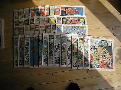 2000AD comics x 93  from 1981/82/83/84/85 as seen No Reserve