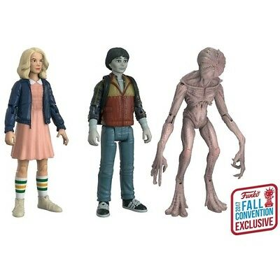 Eleven, Will & Demogorgon Funko Action Figure Stranger Things NYCC 2017 Exclusiv