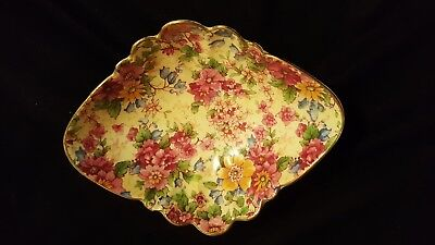 Royal Winton floral chintz nut dish.