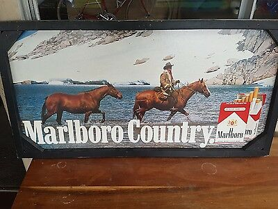 marlboro advertiment board and alpine double sided