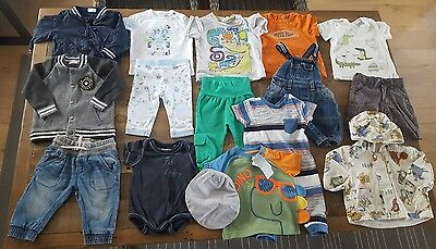 Baby Boys Bundle 3-6 M 62-68 cm incl Next Ted Baker Junior J Feetje H&M