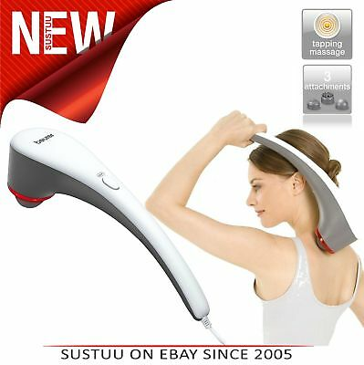 Beurer MG55 Tapping Body Massager│3 Heat Therapy Function│Variable Intensity│20W