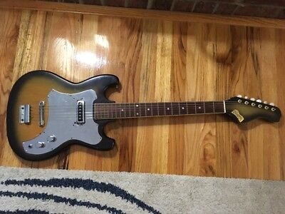 Vintage Norma Electric Guitar Made In Japan Teisco?