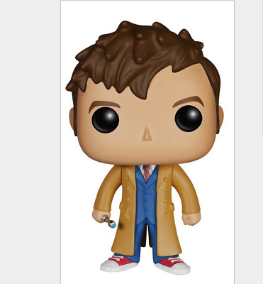 Doctor Who Tenth Doctor Pop Figure TV #221 Dr 10th David Tennant New MIB Mint