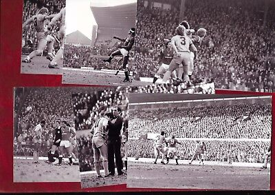 18 Unpublished photos 1984/5 Manchester United v Coventry City (FAC) + negatives