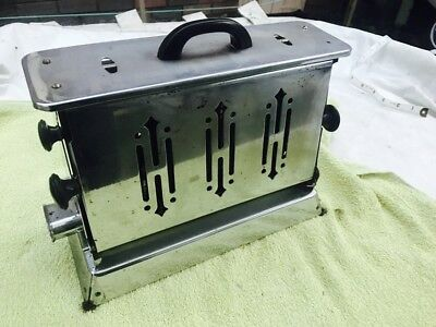 Art Deco 4 Bread Toaster