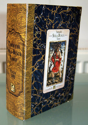 SOLA BUSCA TAROT Limited Box Set Tarocchi Divination Cards Occult Game Of Saturn