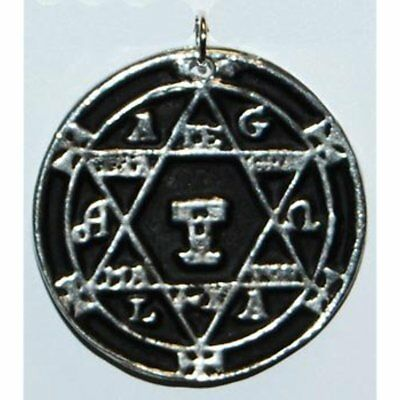 The hexagram of charms Solomon Talisman pendant amulet hermetic kabbalah jewelry