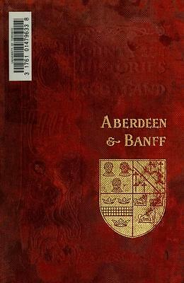 The History & Genealogy of Aberdeen. 63 Antique Books in PDF Format on Data Disc