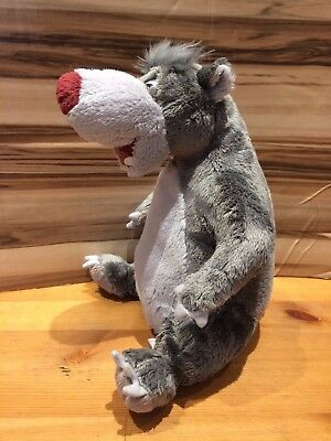 Disney The Jungle Book Back Scratching Baloo Electronic Interactive Soft Toy