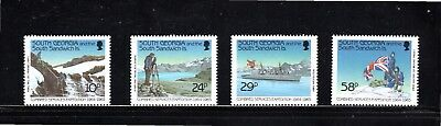 South Georgia & Sandwich Is 1989 25th Anniv Combined Services Expedition MUH