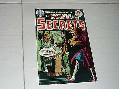 DC Comics The House of Secrets no133 stored since 70s Superman horror ghost