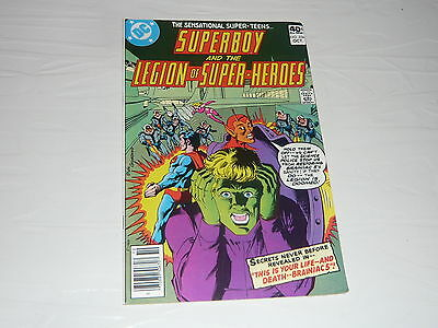 DC Comics Superboy and the Legion of Superheroes No256 Stored since the 1970s