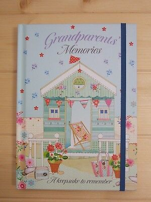 New Grandparents Journal Family History Memory Keepsake Record Book 2017