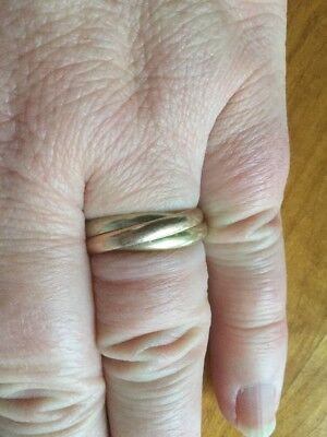 Fingerring Gold Weissgold Rotgold