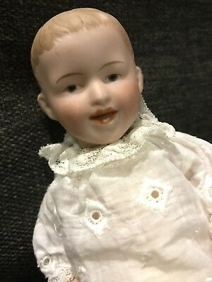 Gorgeous Bisque Headed Character Baby Laughing Boy, Heubach? Nippon?