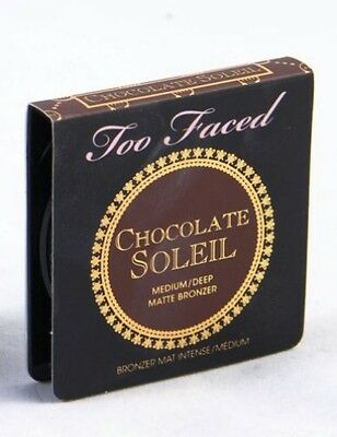 Too Faced Chocolate Soleil Bronzer - Travel Size 2.5g/.08oz - Brand New