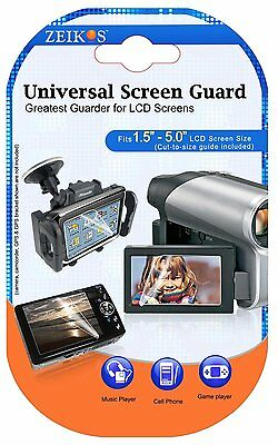 LCD Guard 3 Clear Screen Protector For Canon VIXIA HF R80 R82 R800 GX10