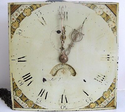 30 Hour Longcase Movement & Dial, Thackwell of Cardiff.
