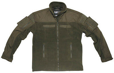 BW Combat Tactical Fleece Outdoor Jacke OD Green oliv L Large