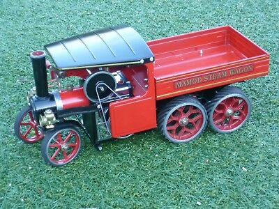 Mamod Steam wagon 6 wheeler custom