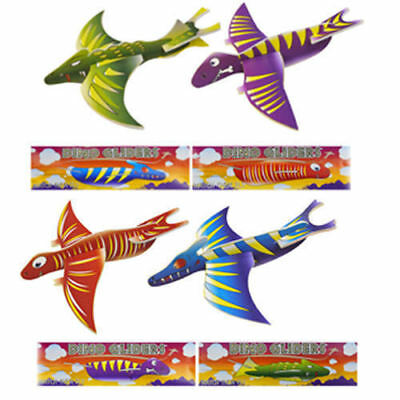 Dinosaur Flying Plane Glider Boys Party Bag Filler Toys Pinata Prizes Loot Bag