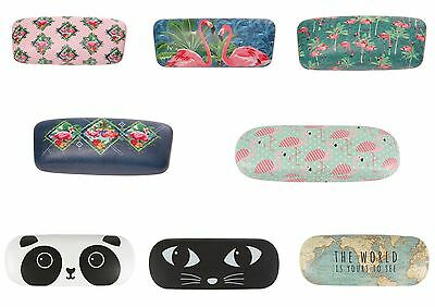 Glasses Cases - Flamingo, Tropical, Panda, Cat, Vintage Map, Sass And Belle Gift