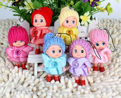 Cute Ddung Doll Cell Phone Backpack Key chain Gift  Decoration WF