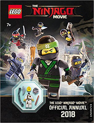 The LEGO® NINJAGO MOVIE: Official Annual 2018 (Egmont Annuals 2018), New, Egmont