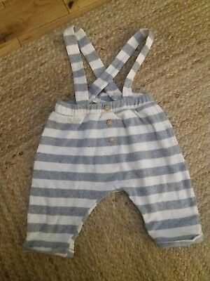 zara boys dungarees age 6 to 9 months