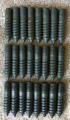 (24) Hanger Bolts, Beer Tap Handle Display Mount Screws,Homebrew, Hanger Bolts.