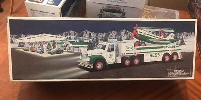 1 Hess 2002 Toy Truck and Airplane