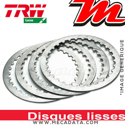 Disques d'embrayage lisses ~ Harley XL 1200 R Sportster Roadster XL2 2008 ~ TRW