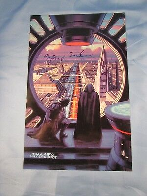 Star Wars Shadows Of The Empire - Tim & Greg Hildebrandt Autograph Mastervision