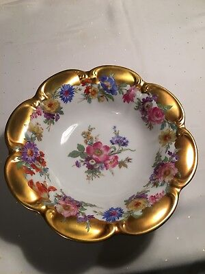 Vintage Carlsbad JKW Decor Austrian Bowl With Beehive Mark