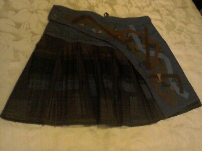 Save The Queen Asymmetric Mini Skirt Size large