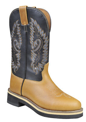 LAGERRÄUMUNG: HKM Westernstiefel SOFTY COW Gr.36,37,40,41,42,43,44 braun/london